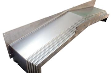 如何防止与解决机床钢板防护罩脱节情况